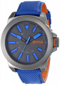 [ヒューゴボス]HUGO BOSS  BOSS Orange New York Analog Display Quartz Blue Watch 1513008