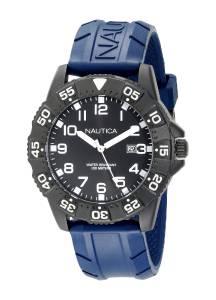 [ノーティカ]Nautica 腕時計 NSR 103 Stainless Steel Watch with Blue Band A13028G メンズ