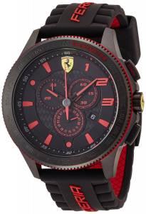 [フェラーリ]Ferrari 腕時計 Scuderia 0830138 Chronograph Black Watch Scuderia XX