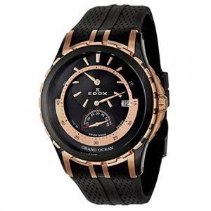 [エドックス]Edox  Grand Ocean Regulator Automatic Automatic Watch 77002-357RN-NIR メンズ