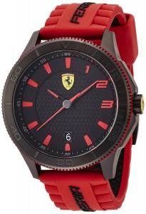 [フェラーリ]Ferrari 腕時計 Scuderia Scuderia XX Black Red Watch 0830136 メンズ