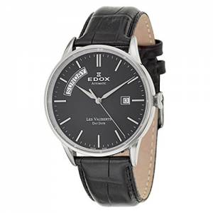 [エドックス]Edox  Les Vauberts Day Date Automatic Automatic Watch 830073NIN 83007-3-NIN