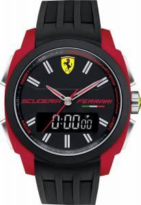 [フェラーリ]Ferrari 腕時計 Scuderia Watch Black/red 0830121 メンズ [並行輸入品]