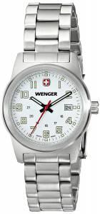 [ウェンガー]Wenger 腕時計 Analog Display Swiss Quartz Silver Watch 72829 レディース