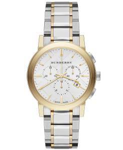 [バーバリー]BURBERRY 腕時計 The City TwoTone Chronograph Watch BU9751 ユニセックス