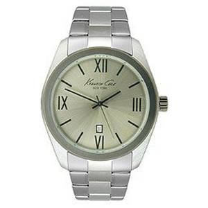 [ケネスコール]Kenneth Cole New York  ThreeHand Stainless Steel watch KC9301 メンズ