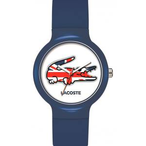 [ラコステ]Lacoste  Watches Goa Blue Union Jack With White Dial 2020072 ユニセックス