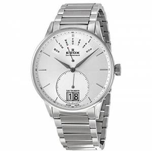 [エドックス]Edox  Les Vauberts Day Retrograde Quartz Watch 340063AAIN 34006 3A AIN メンズ