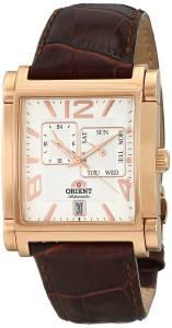 [オリエント]Orient  Gallant Analog Display Japanese Automatic Brown Watch SETAC008W0 メンズ
