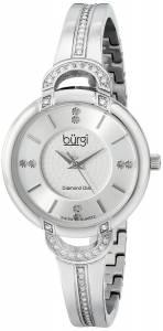 [バージ]Burgi 腕時計 Analog Display Swiss Quartz Silver Watch BUR105SS レディース