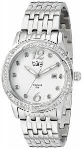 [バージ]Burgi 腕時計 Analog Display Japanese Quartz Silver Watch BUR102SS レディース