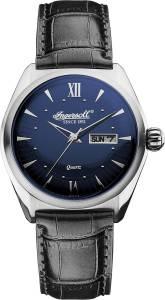 [インガソール]Ingersoll  Hanover Analog Display Japanese Quartz Black Watch INQ002BLSL