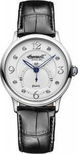 [インガソール]Ingersoll  Regent Analog Display Japanese Quartz Black Watch INQ022WHSL