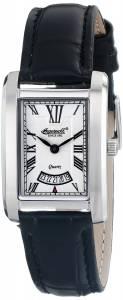 [インガソール]Ingersoll  Park Analog Display Japanese Quartz Black Watch INQ023WHSL