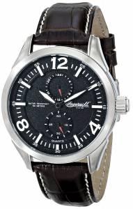 [インガソール]Ingersoll  Wellington Analog Display Japanese Quartz Brown Watch INQ028BKSL