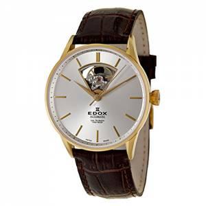 [エドックス]Edox  Les Vauberts Automatic Automatic Watch 8501037JAID 85010-37J-AID メンズ
