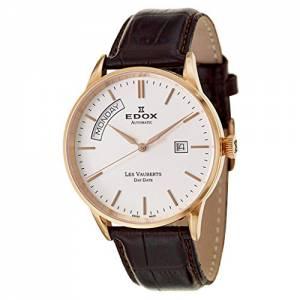 [エドックス]Edox  Les Vauberts Day Date Automatic Automatic Watch 83007-37R-AIR メンズ