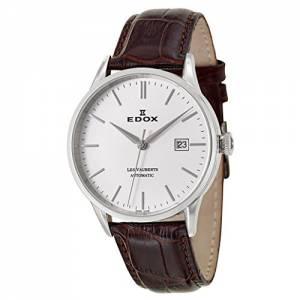 [エドックス]Edox  Les Vauberts Automatic Automatic Watch 800813AIN 80081-3-AIN メンズ