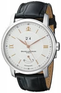 [ボーム&メルシエ]Baume & Mercier Classima Analog Display Swiss Automatic Black Watch A10142