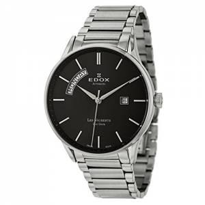 [エドックス]Edox  Les Vauberts Day Date Automatic Automatic Watch 830113NNIN 83011-3N-NIN