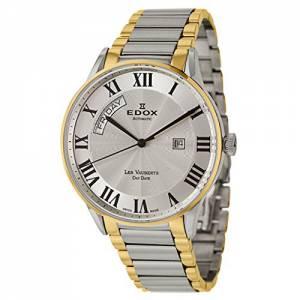 [エドックス]Edox  Les Vauberts Day Date Automatic Automatic Watch 83011-357J-AR メンズ