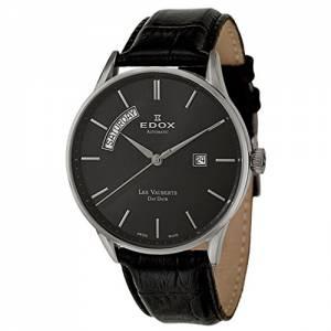 [エドックス]Edox  Les Vauberts Day Date Automatic Automatic Watch 83010-3N-NIN メンズ