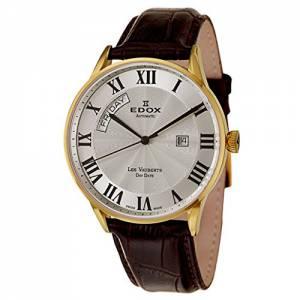 [エドックス]Edox  Les Vauberts Day Date Automatic Automatic Watch 8301037JAR 83010-37J-AR