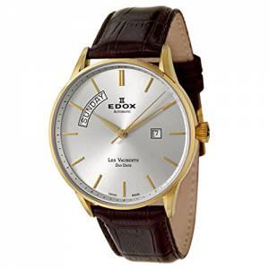[エドックス]Edox  Les Vauberts Day Date Automatic Automatic Watch 8301037JAID 83010-37J-AID