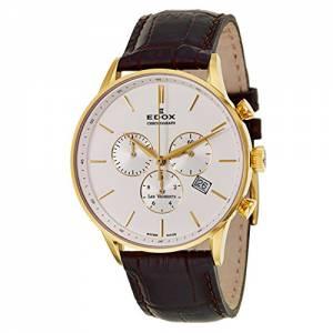 [エドックス]Edox  Les Vauberts Chronograph Quartz Watch 1040837JAAID 10408-37JA-AID メンズ