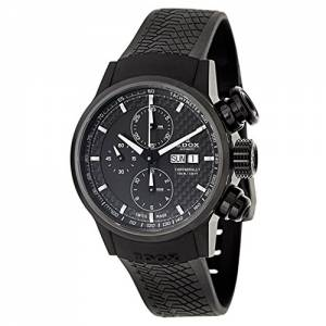 [エドックス]Edox  Chronorally Automatic Automatic Watch 0111637NPNGIN 01116-37NPN-GIN