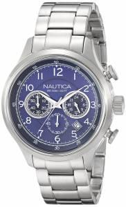 [ノーティカ]Nautica  NCT 16 Analog Display Japanese Quartz Silver Watch N19630G メンズ