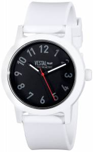 [ベスタル]Vestal  Alpha Bravo Plastic Analog Display Japanese Quartz White Watch ALP3P01