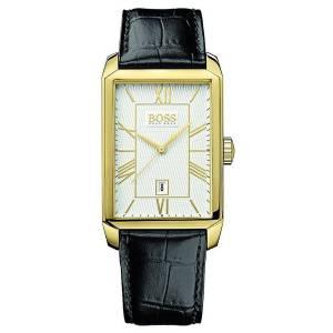 [ヒューゴボス]HUGO BOSS 腕時計 Classico Silver Dial Black Leather Watch 1512966 メンズ