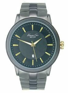 [ケネスコール]Kenneth Cole New York Classic Analog Display Japanese Quartz Black Watch KC9394
