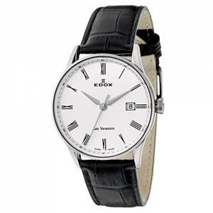 [エドックス]Edox 腕時計 Les Vauberts Quartz Watch 701723AAR 70172-3A-AR メンズ