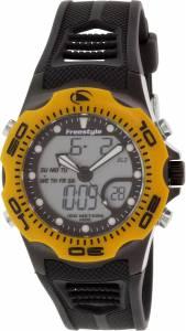 [フリースタイル]Freestyle Shark X AnalogDigital Display Japanese Quartz Black Watch 10016989