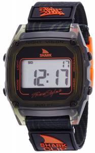 [フリースタイル]Freestyle Shark Clip Digital Display Japanese Quartz Black Watch 10019188