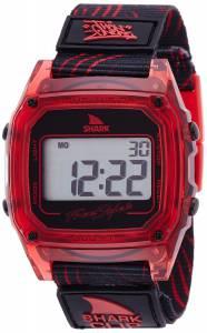 [フリースタイル]Freestyle  Shark Clip Digital Display Japanese Quartz Red Watch 10020214