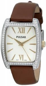 [パルサー]Pulsar  Night Out Analog Display Japanese Quartz Brown Watch PH8097 レディース