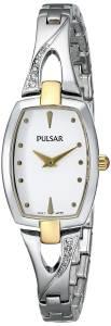 [パルサー]Pulsar  Everyday Value Analog Display Japanese Quartz Silver Watch PRW002X