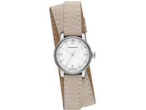[バーバリー]BURBERRY 腕時計 Silver Dial Stainles Steel Leather Quartz Watch BU7847 B87847