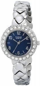 [バージ]Burgi 腕時計 Analog Display Swiss Quartz Silver Watch BUR113SSB レディース