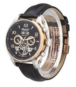 [インガソール]Ingersoll San Bernardino Stainless Steel Automatic Watch with Black IN4514RBK