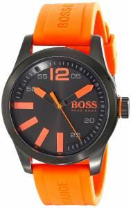 [ヒューゴボス]HUGO BOSS BOSS Orange Paris Analog Display Japanese Quartz Orange Watch 1513047