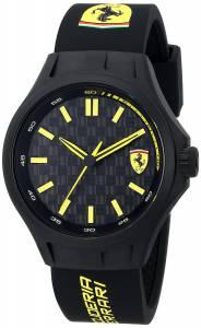 [フェラーリ]Ferrari 腕時計 Pit Crew Black Sport Watch Watch 0830158 メンズ