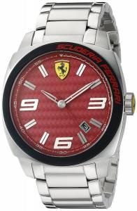 [フェラーリ]Ferrari 腕時計 Aero Evo Analog Display Quartz Silver Watch 0830167 メンズ