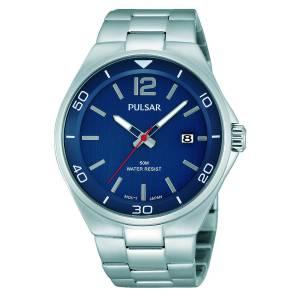 [パルサー]Pulsar 腕時計 Analog Display Japanese Quartz Silver Watch PS9325 メンズ