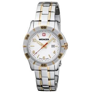 [ウェンガー]Wenger 腕時計 Platoon Blue Dial, BiColorBracelet 0921.105 37084 レディース