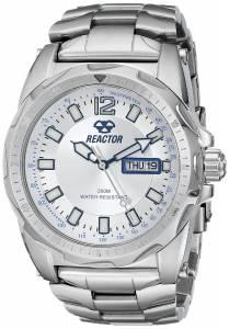 [リアクター]REACTOR 腕時計 Fission Silver Sunray Dial Watch 49002 メンズ
