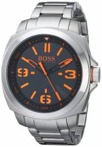 [ヒューゴボス]HUGO BOSS  BOSS Orange BRISBANE Analog Display Quartz Silver Watch 1513099